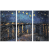 Starry Night over The Rhone by Vincent Van Gogh Reproduction