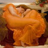 Flaming June Frederic Leighton Classic Art Reproduction