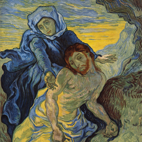 Pieta Vincent Van Gogh Art Reproduction