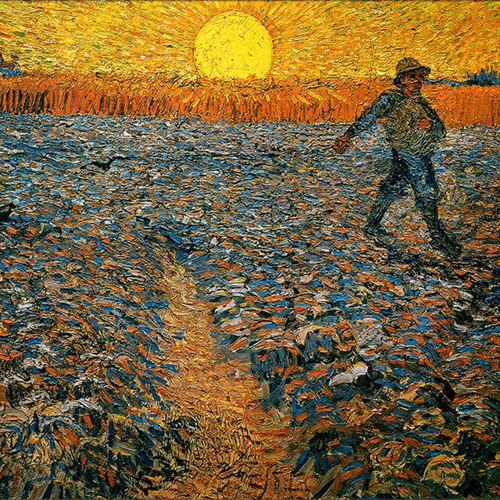 The Sower Vincent Van Gogh Art Reproduction